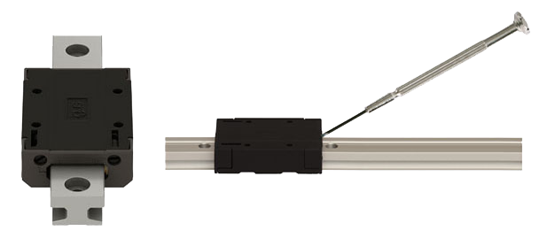 igus adjustable drylin® T low profile linear guide