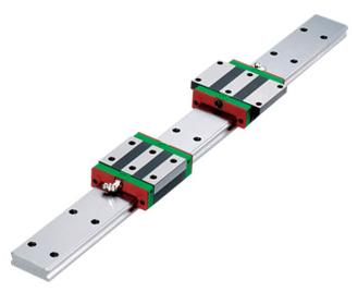 Hiwin Technologies WE Series - Four Row Wide Rail Type Linear Guideway