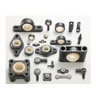 מגוון יחידות מיסוב ויחידות קצה מחומרים פולימריים - igubal - מבית igus