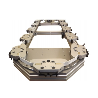 מסלולן הובלה אובאלי ממוסב עם רצועת תזמון מבית HepcoMotion