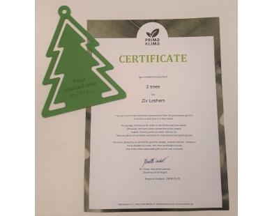 למען איכות הסביבה- חברת IGUS נטעה עצים בשם קונלוג