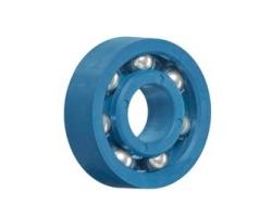 מיסוב כדורי מחומרים פולימריים - xirodur® grooved ball bearing - detectable - מבית igus