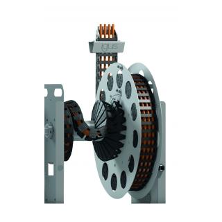 תעלת e-spool עם מנגנון איסוף חשמלי מבית igus