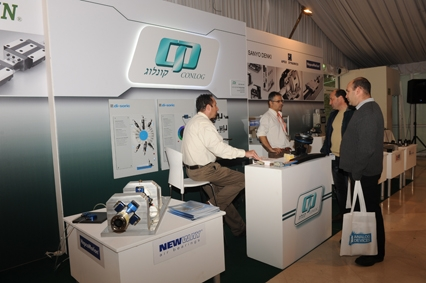 קונלוג בתערוכת Motion Control and Power Solutions 2013