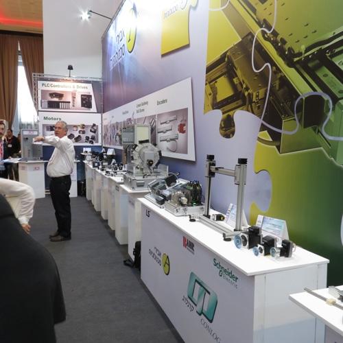 ביתן קונלוג-אבירי בתערוכת Motion Control & Power Solutions 2014